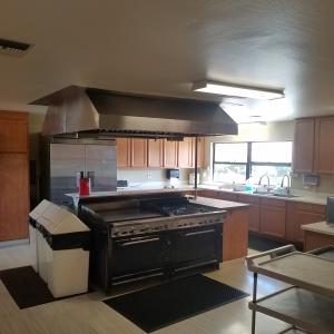 Plaza club house kitchen