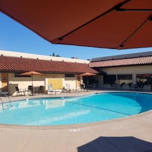 Plaza club house pool