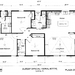 Plaza del Rey Final Floor Plan for Brochure