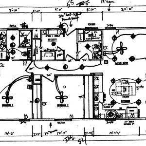 Wagon Wheel 91 Floor Plan for Brochures